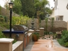 BBQ, Retaining Walls, Columns, Fountain, Concrete Patio