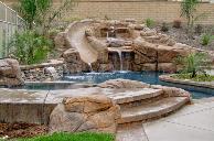 custom Pools and spas
